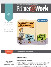 Printer@Work: Create A Better Unboxing Experience, Gmail Filtering Tips